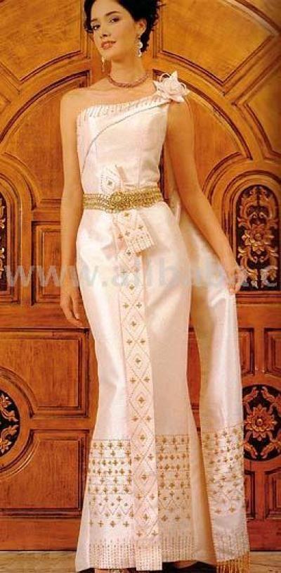 Thai style evening dress thai style evening dress for Thai style wedding dress