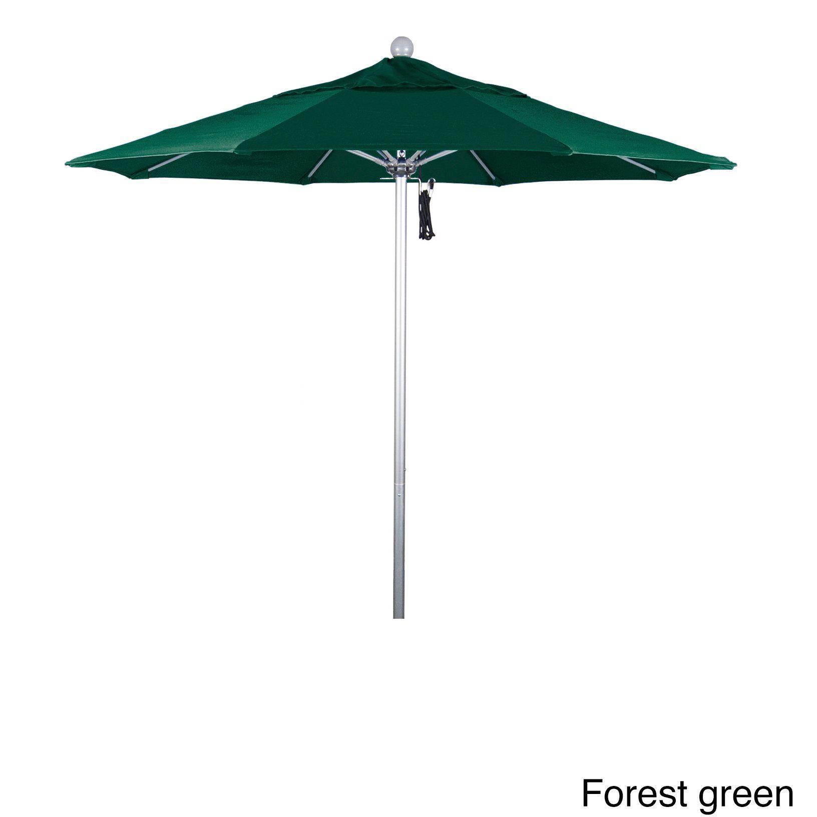 California Umbrella 7 5 Rd Aluminum Frame Fiberglass Rib Market