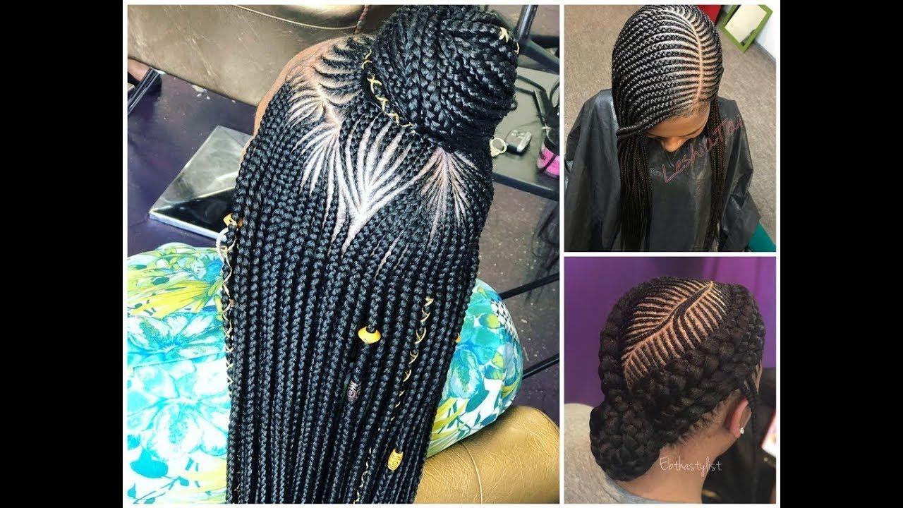 Styles Of Braids For Black Hair: 2019 Braided Hairstyles : Incredibly Cute Hair Ideas