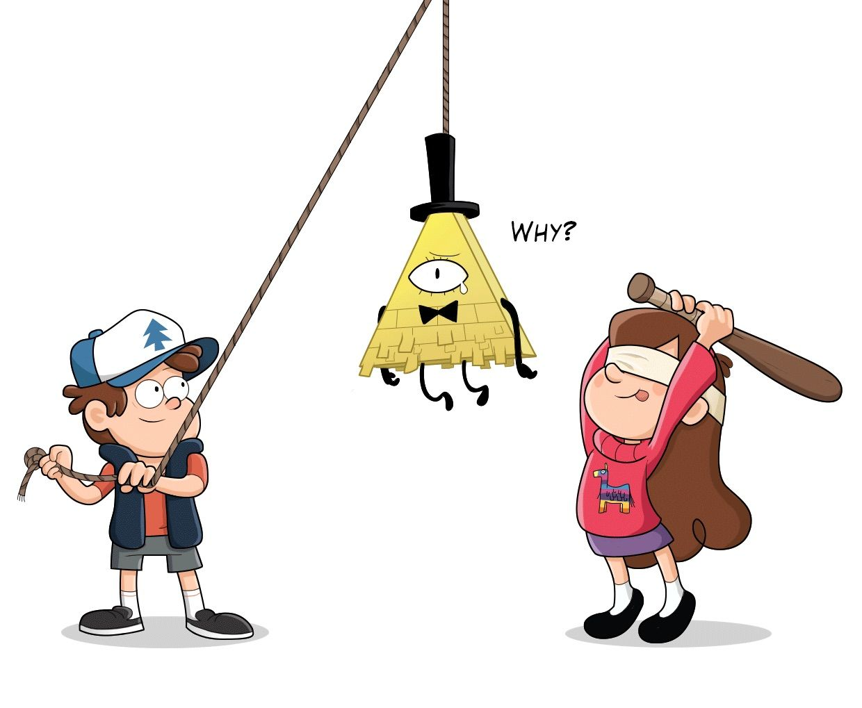 Haha poor bill.. but this is what happens when you mess with the pines! XD