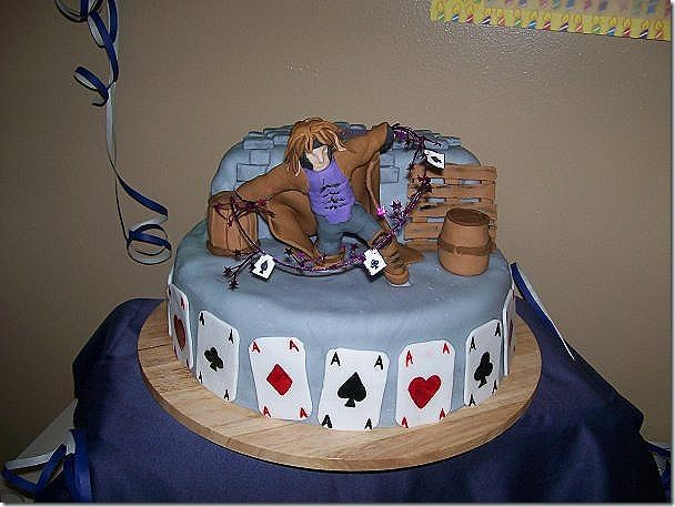 Image result for gambit birthday cake