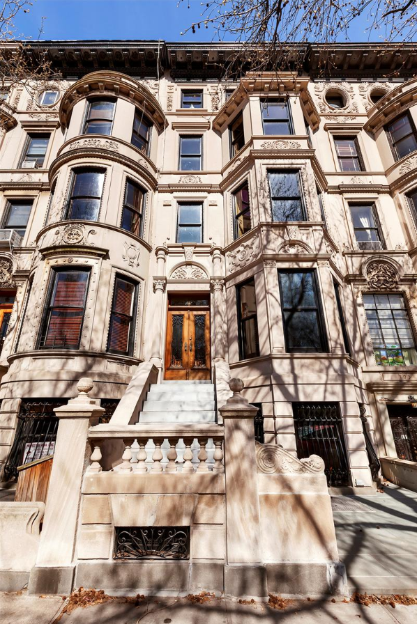 Gorgeous 11m Prospect Park Townhouse Is Listed For The First Time In A Century Mansions Prospect Park Townhouse