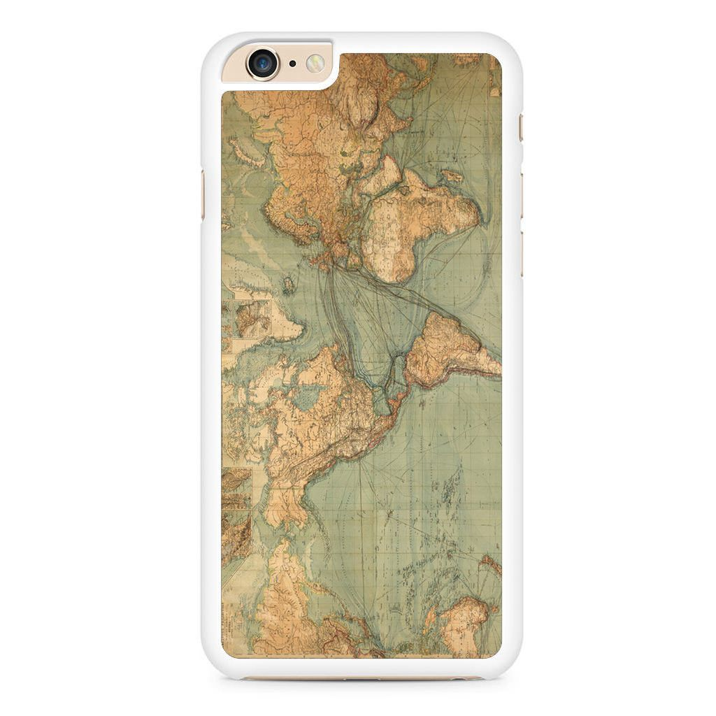 World Map Iphone 6 Plus / Iphone 6S Plus Case