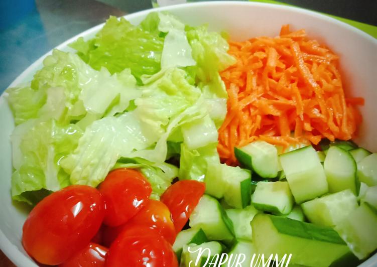 Resep Salad Sayur Oleh Dapur Ummi Noer Azzela Resep Resep Salad Makanan Resep Makanan