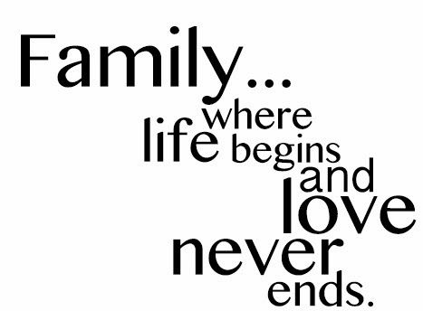 Pin by Elizabeth Rodriguez on Quotes | Short family quotes ...