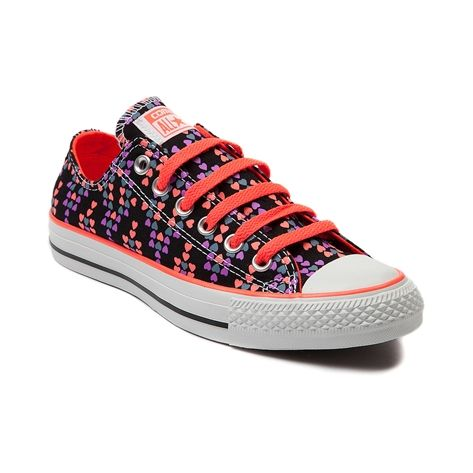 9c1de7326ab5 Shop for Converse All Star Lo Hearts Sneaker in Black at Shi by Journeys.  Shop today for the hottest brands in womens shoes at Journeys.com.