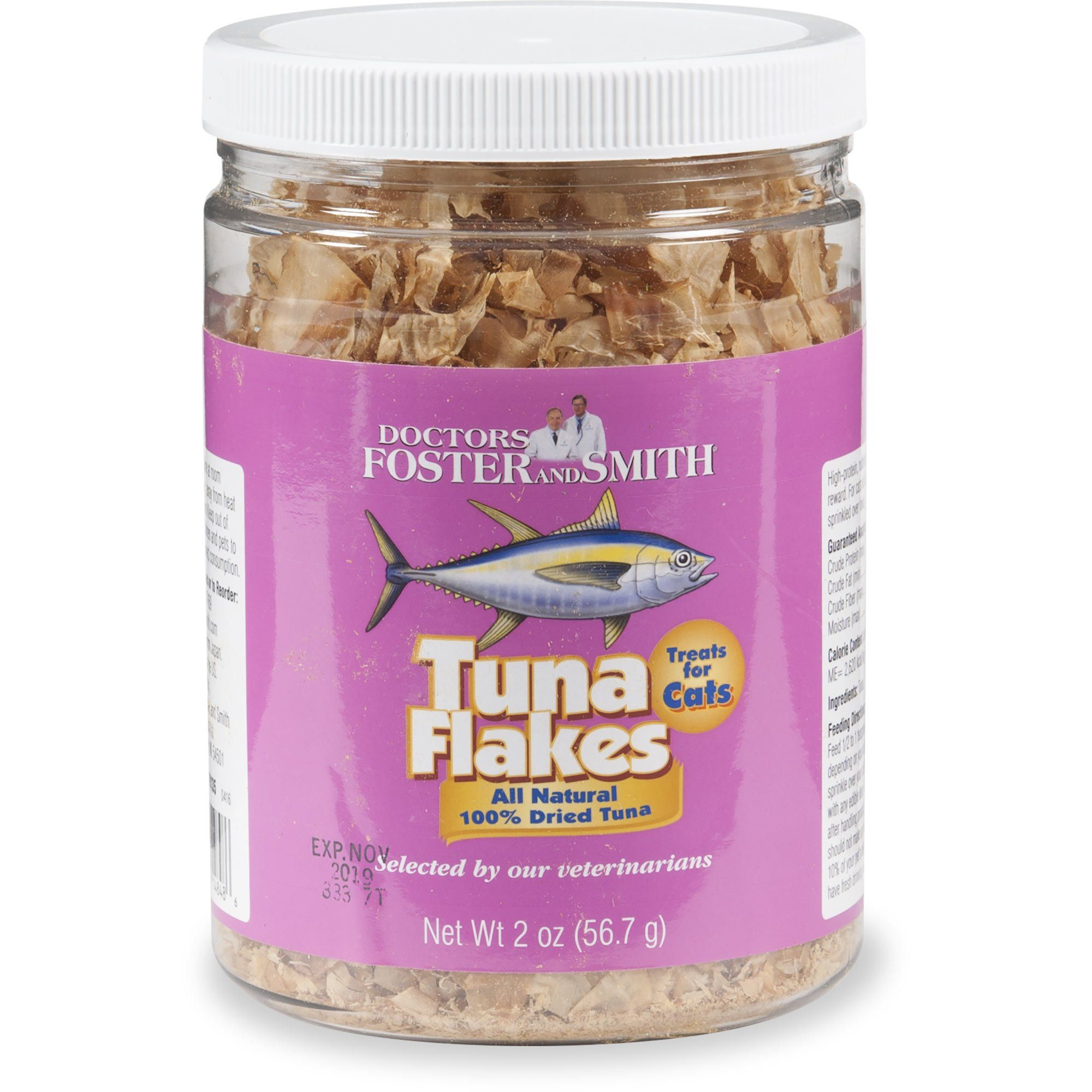 Drs Foster And Smith Tuna Flakes Cat Treat 2 Oz Foster Smith Cat Treats Treats