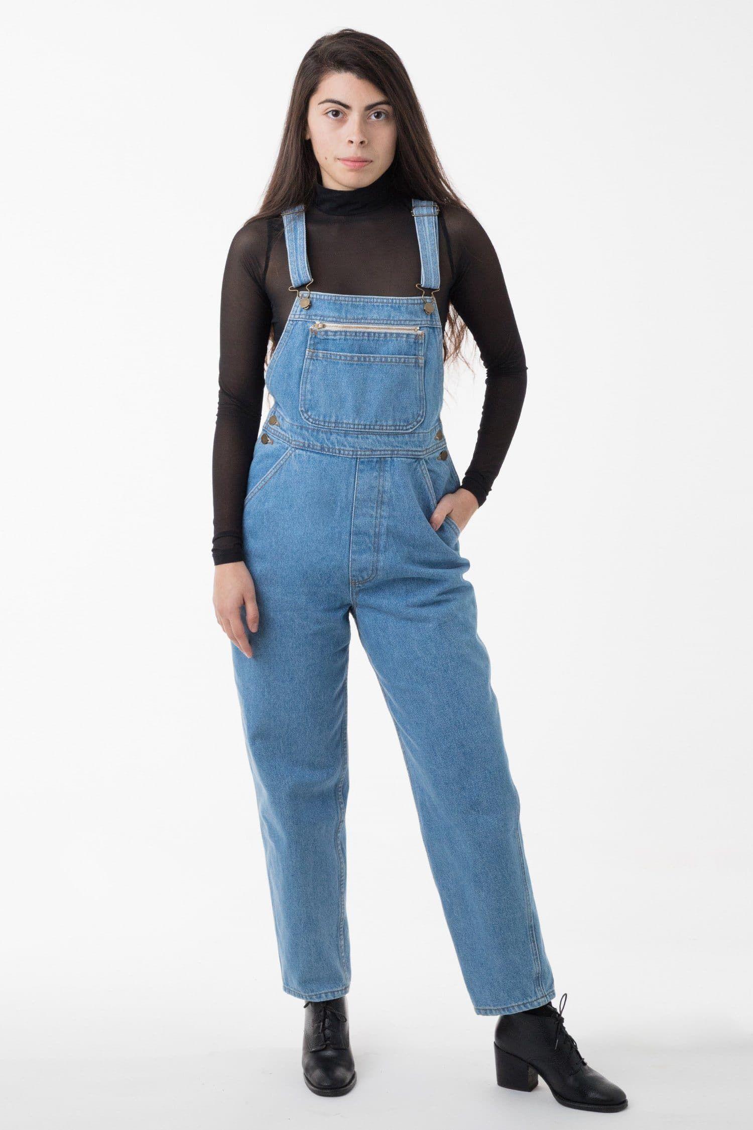 Rdnu07 Unisex Unisex 14 Oz Denim Overall In 2020 Overalls Denim Overalls American Made Clothing