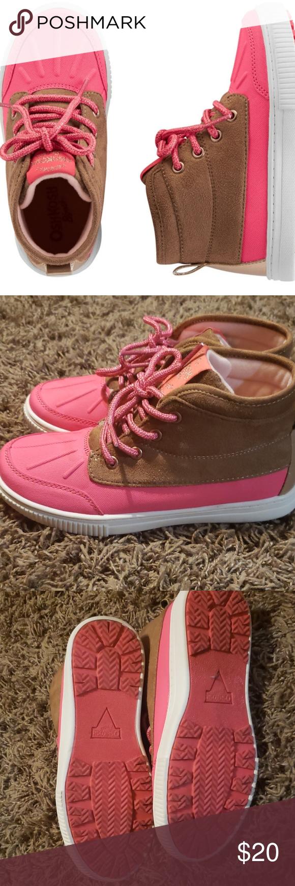Oshkosh Pink Duck Boots   Duck boots