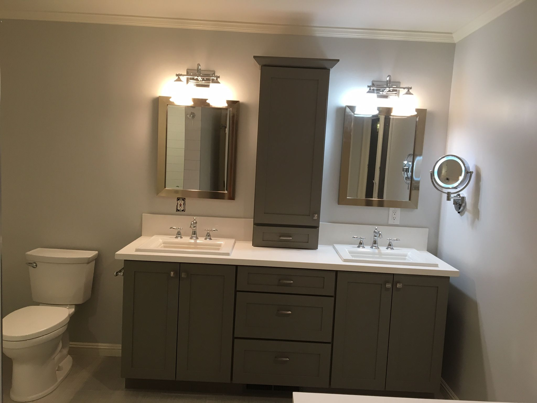 Bath Remodeling Project Features Shakerstyle Cabinetry By - Dayton bathroom remodeling