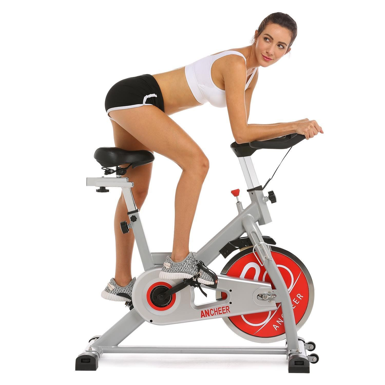 Keland Indoor Fitness Exercise Belt Drive Indoor Bike Home Gym