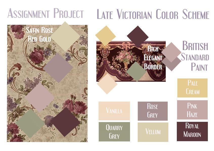 Superieur Victorian Paint Schemes | Late Victorian Color Scheme Option 2   SampleBoard