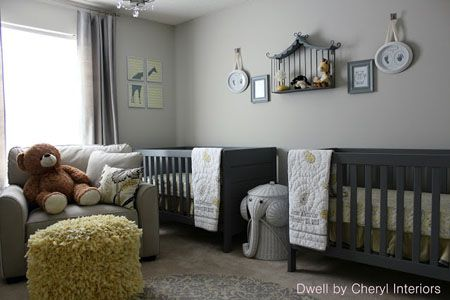 Light Gray Nursery Ideas