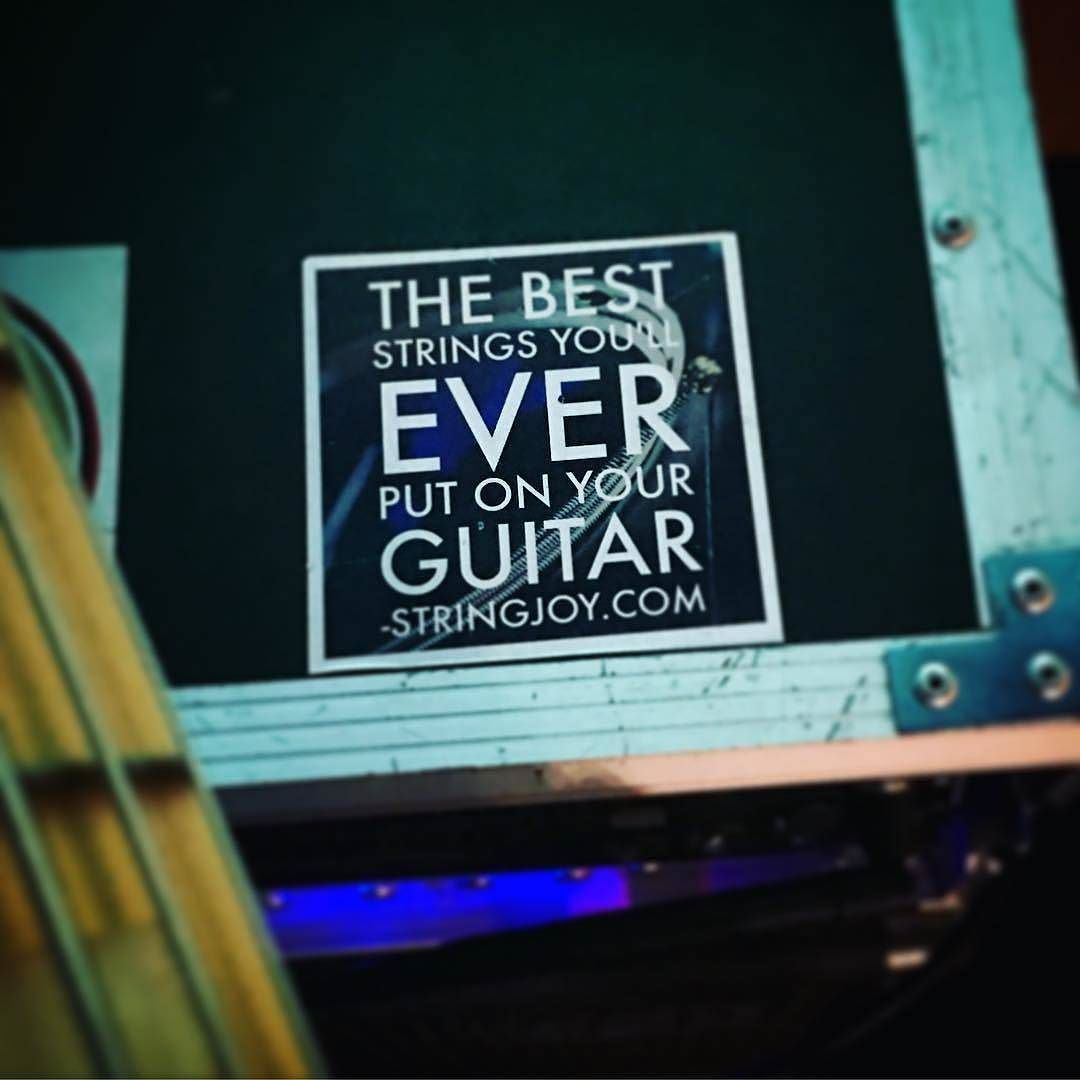 We know this is a bold statement but we made these stickers because we believe in our products. Thousands of other players like @mauryrosasbass_official believe in them too and that's what makes us the most proud.  #Stringjoy #CustomStrings #Guitarist #FreshStrings #Geartalk #GuitarStrings #KnowYourTone #GuitarPlayer #CleanTone #ToneForDays | Create your custom string set today at Stringjoy.com #guitar #guitars #electric #acoustic #bassguitar