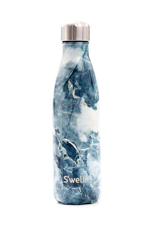 Adorable Blue Granite Swell Bottle Bottle Water Bottle Blue Granite