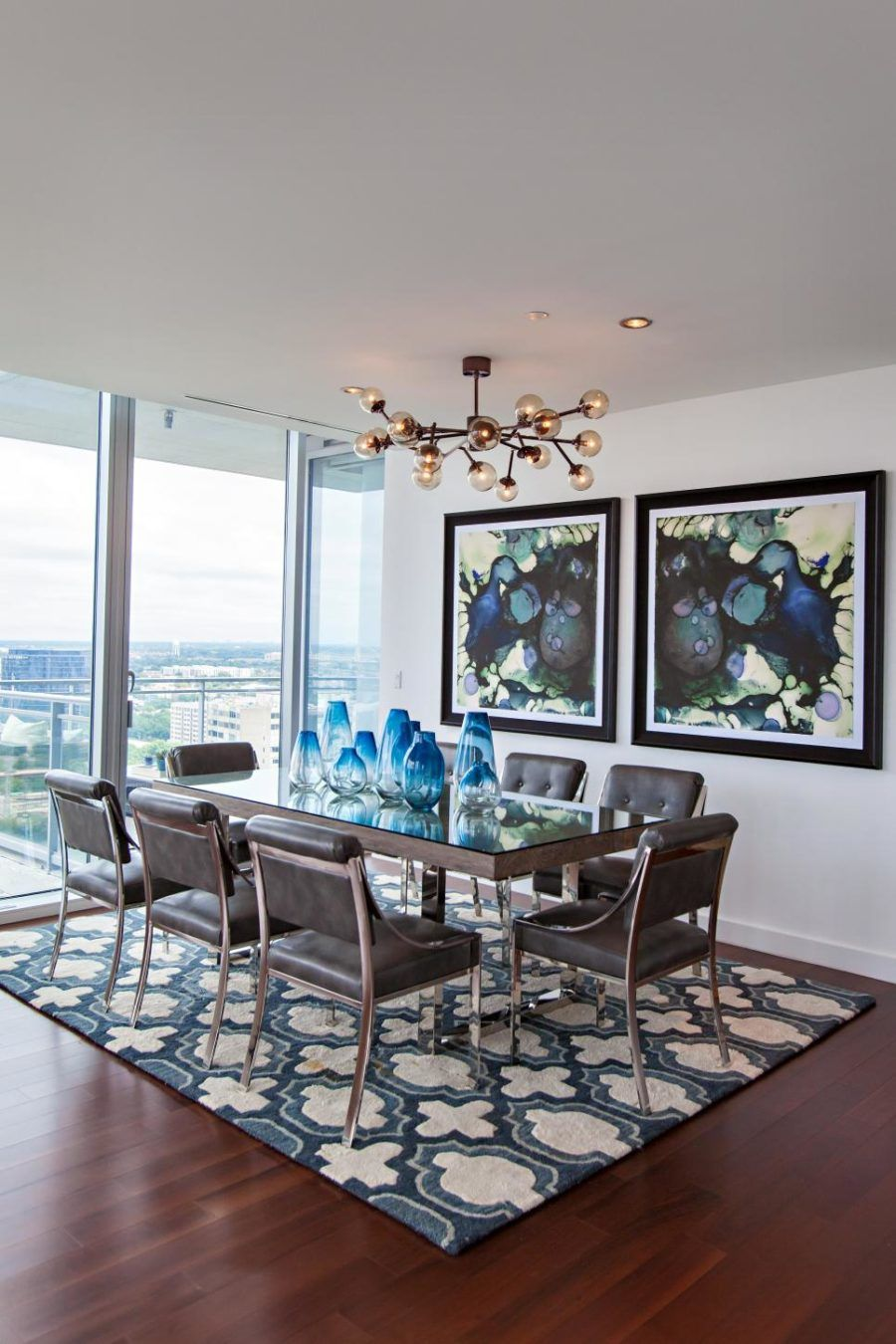 Modern Wall Art That Will Transform Your Home Modern Dining Room Dining Room Contemporary Contemporary Dining Room Chair