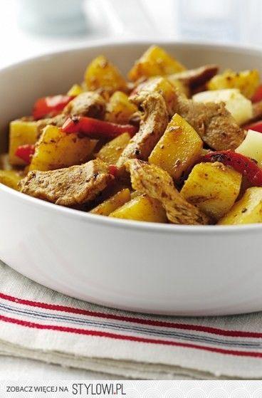 Ziemniaki Przepisy Na Proste I Tanie Potrawy Kurczak Pieczony Jedzenie Pomysly Na Dania