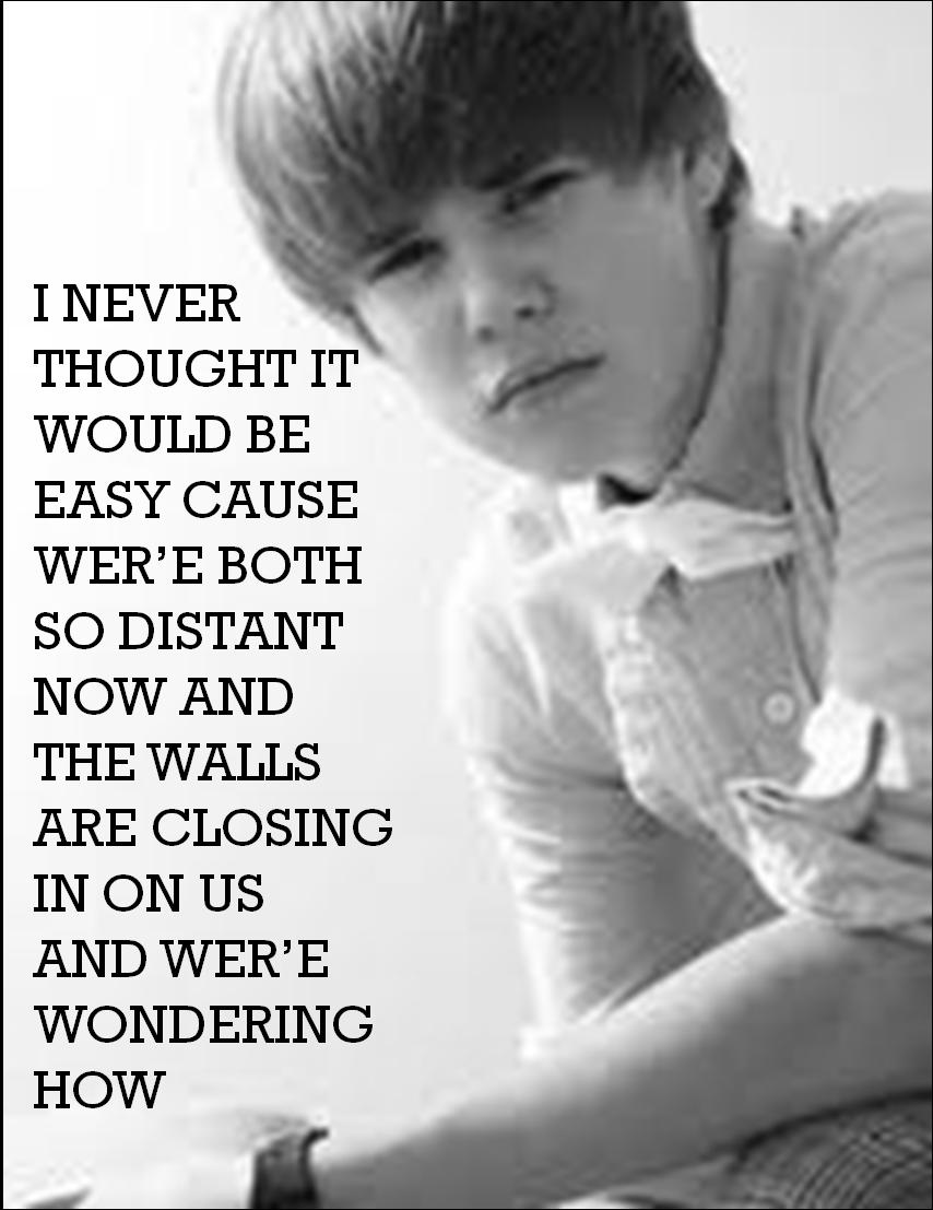 Justin bieber tumblr lyrics live quotes - Justin Bieber Songs Photo Down To Earth Lyrics