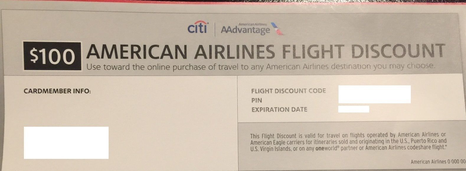 Coupons Giftcards 100 American Airlines Flight Voucher Gift Card