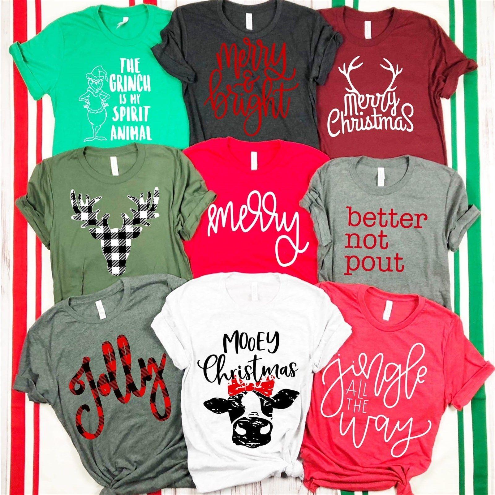 c209de0b84 Christmas Shirt for Women | Women's Christmas Shirt | Grandma Shirt | Nana  Shirt | Grammy Shirt | Gift for Grandma | Grandkids Name… | Things 2 Make.