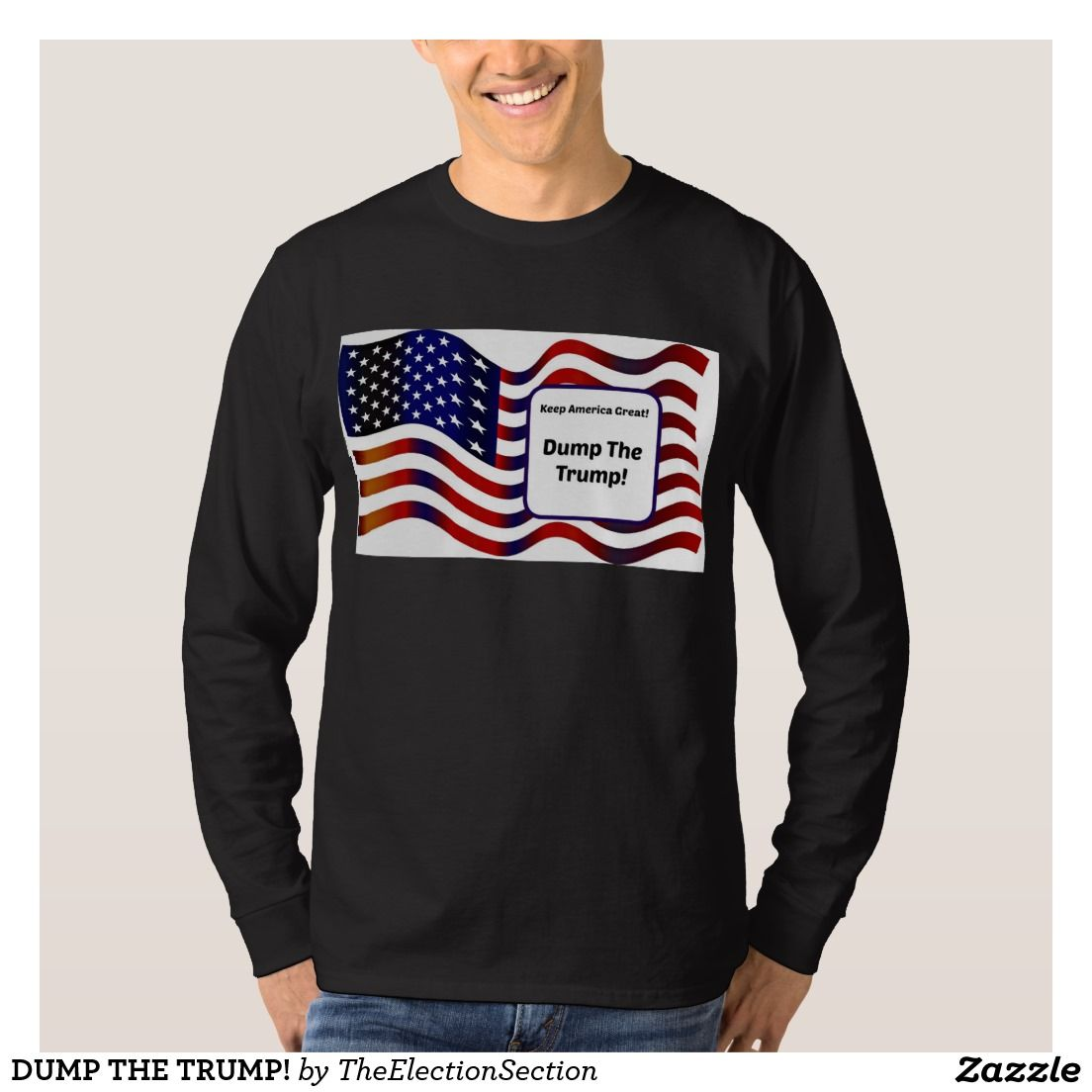 Your Custom Men's Basic Long Sleeve T-Shirt