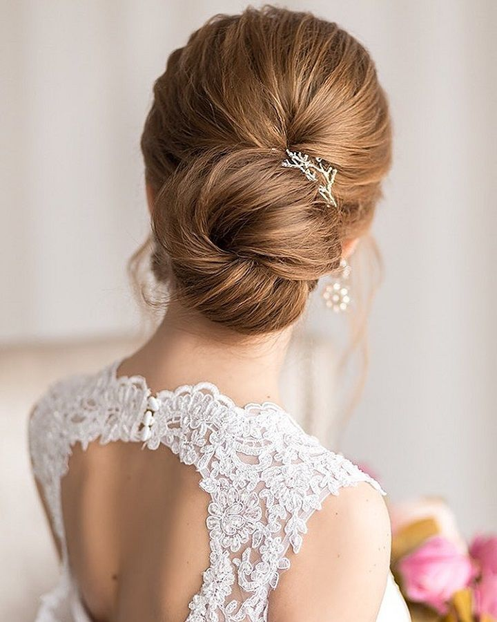Beautiful Updo Wedding Hairstyle To Inspire You: Beautiful Hairstyle To Inspire Your Big Day Look 1