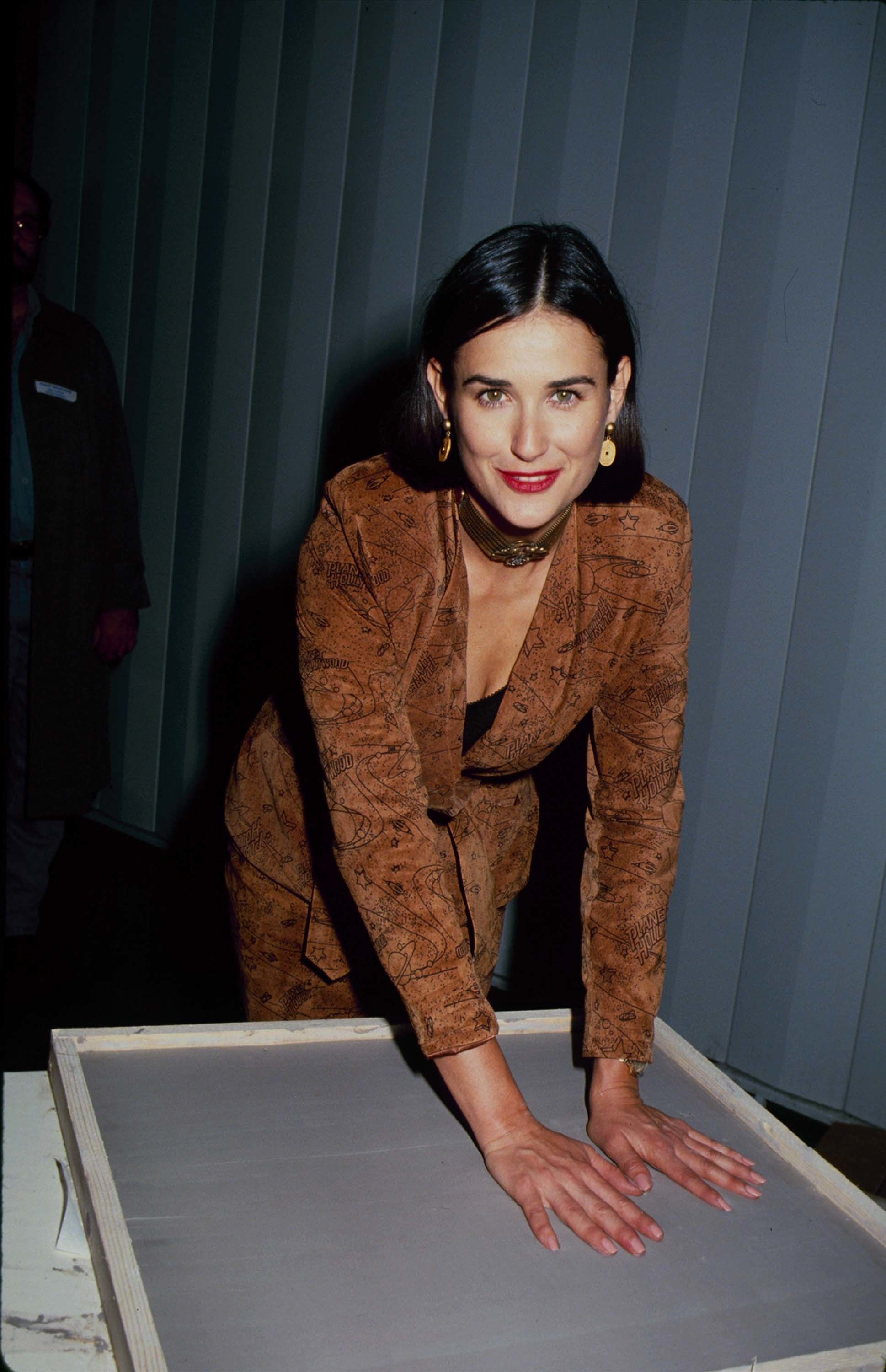 demi moore looked