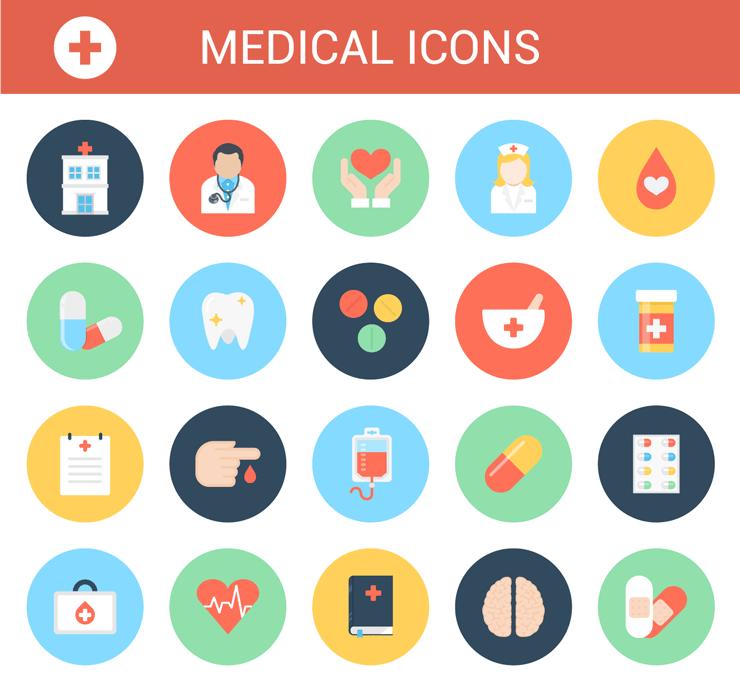 Medical Icons Medical Icon Hospital Icon Icon Set Design