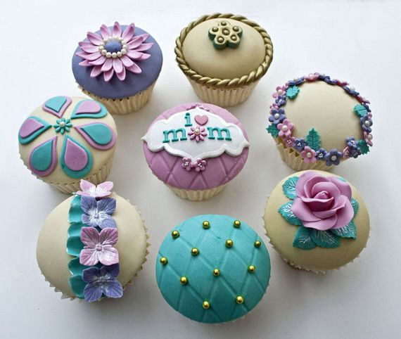 Celebrate Mothers Day with Decorating Ideas of Cakes, Cupcakes