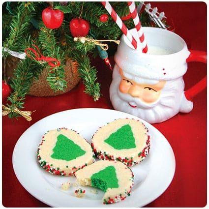 Slice N Bake Christmas Tree Cookies Recipe Christmas Cookies