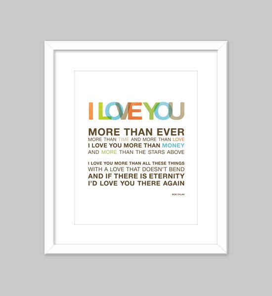 Pin By Gina Pestak On Words Lyrics On Canvas Love You More Than Love You