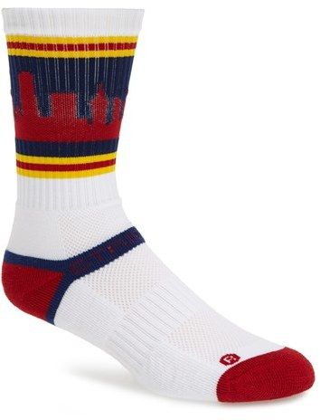 best authentic f5b29 5ed34 STRIDELINE  Cleveland  Socks