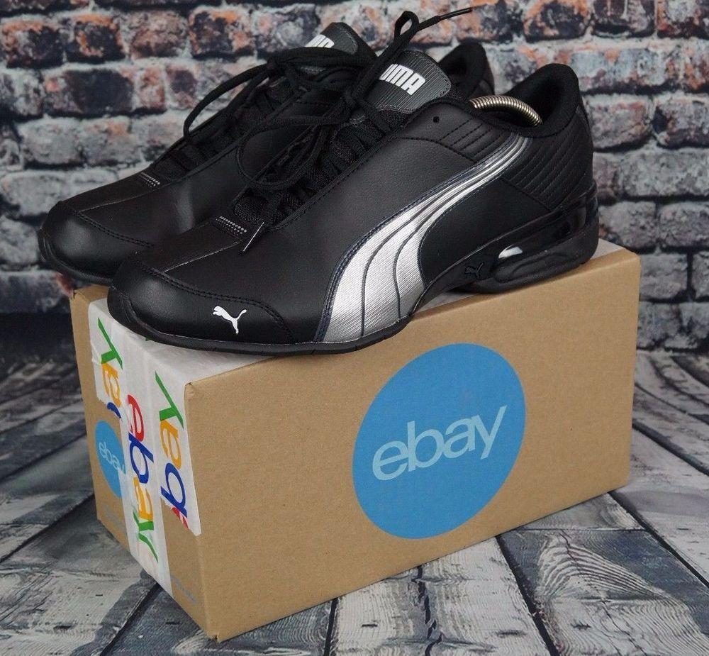 c6d859314179f8 PUMA Super Elevate Running Shoes Casual Fashion Sneaker Black Gray Mens 11  NEW  PUMA  AthleticSneakers