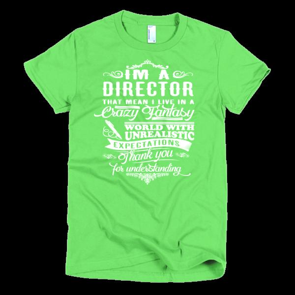 DIRECTOR - Short sleeve women's t-shirt