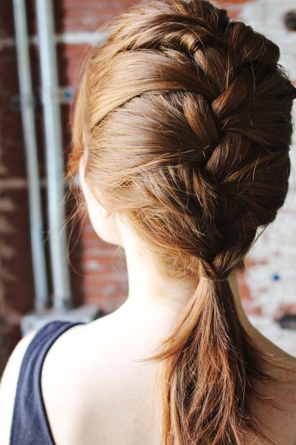 die schöne katniss braid für kurzes haar über die frisuren
