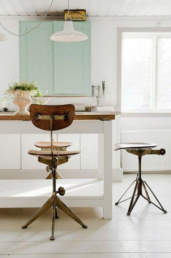 industriestuhl küche einrichten ideen Möbel - Designer Möbel - Küche Einrichten Ideen