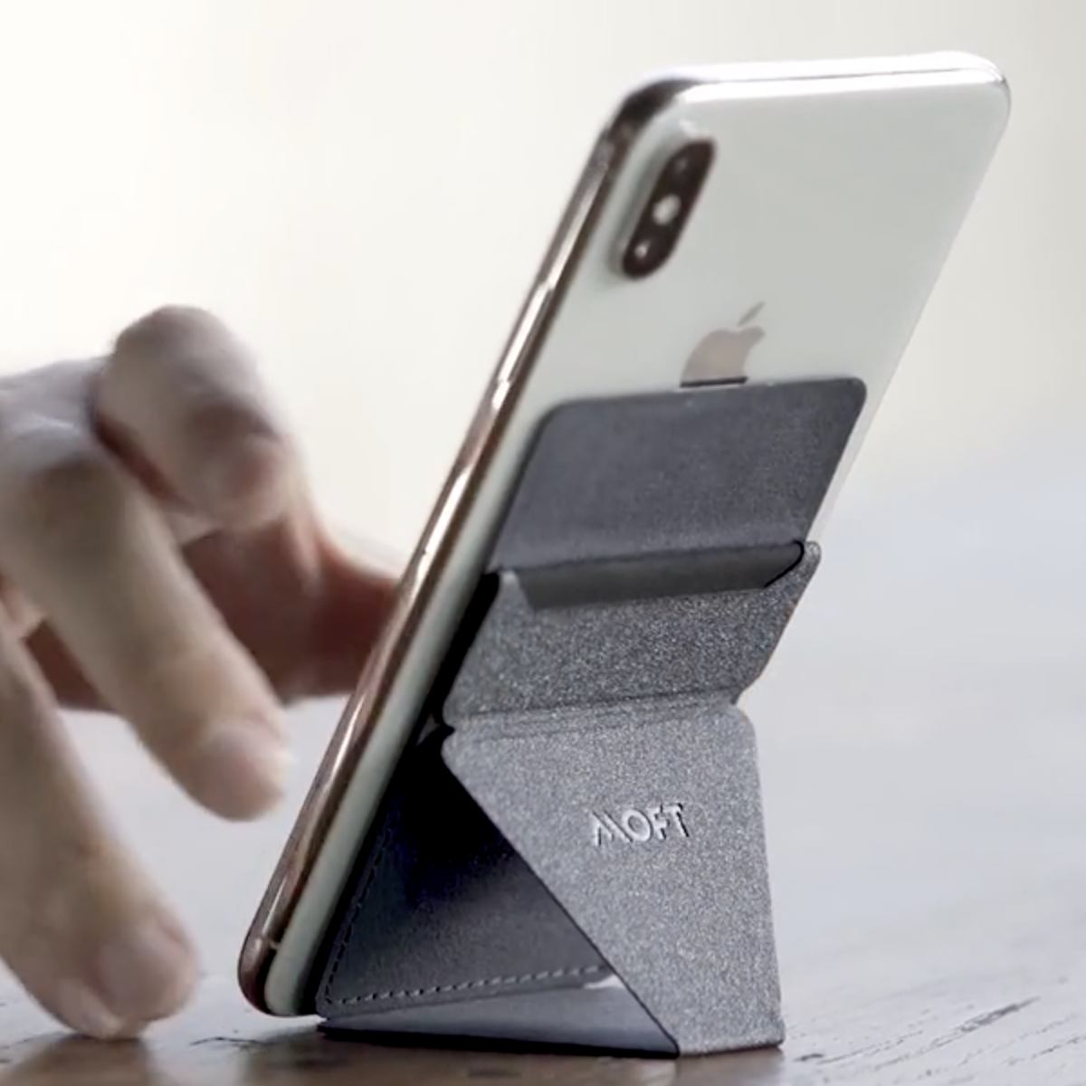 Moft X: The Paper-thin Phone & Tablet Stand