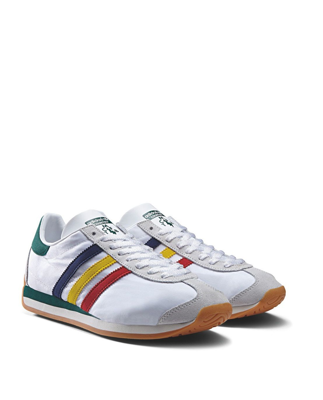 finest selection d54c8 b23e8 adidas Originals Country OG  White Green Blue
