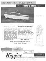 Higgins Boats 1958 Ad Picture
