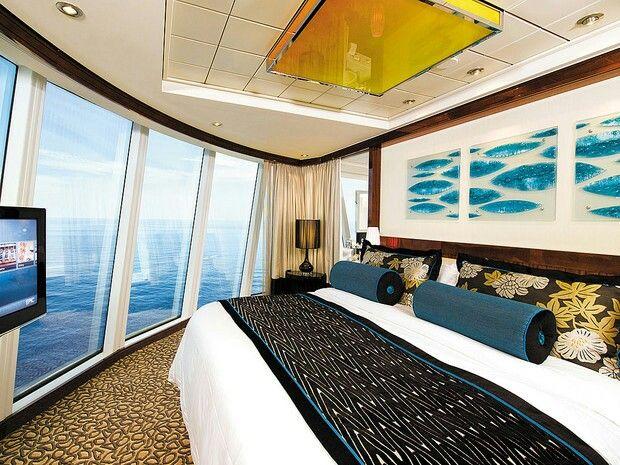 The Haven Owner S Suite Bedroom Aboard Ncl S Breakaway Norwegian Cruise Cruise Ships Norwegian Norwegian Cruise Line