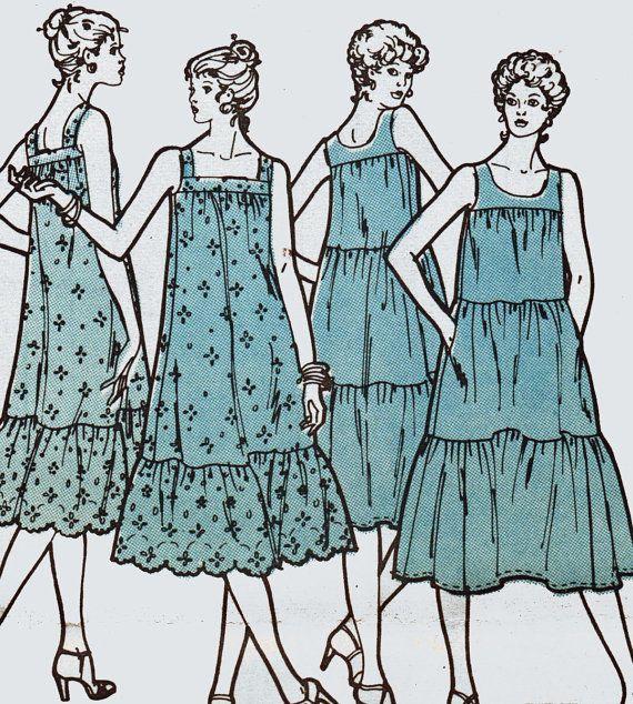 Plus Size Dress Pattern Ruffle Tier Dress Pattern Sun Dress Pattern ...