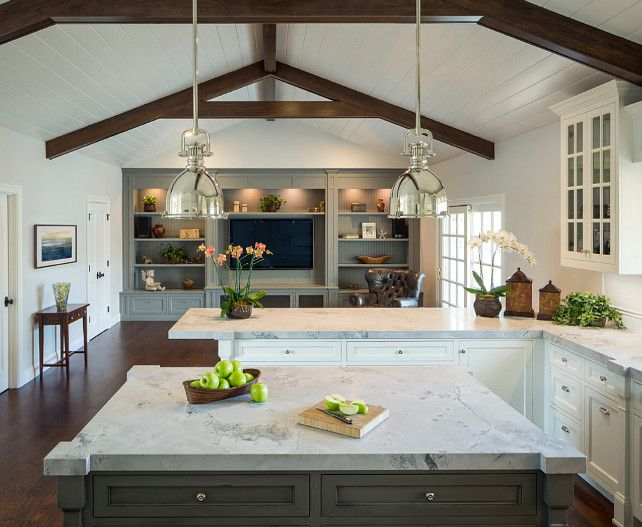 Perfect Kitchen Paint Colors Balboa Mist Coventry Gray And Chelsea Gray