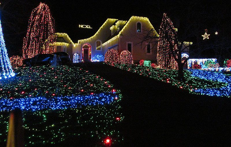 Do not miss Bill Vaughan's Holiday Light Display at 1601