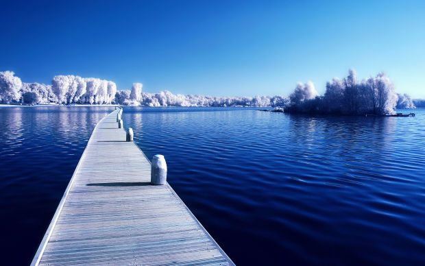 20 Beautiful Ocean Wallpapers To Freshen Up Your Desktop Winter Wallpaper Winter Wallpaper Hd Ocean Wallpaper