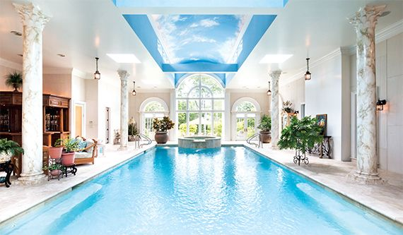 millionaire lifestyle 17 stupefying indoor pools that will leave you green with envy
