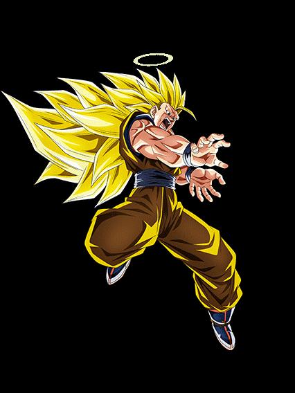 Goku Ssj3 Render 568px Dokkan Battle By Maxiuchiha22 On Deviantart Goku Digital Drawing Broly Movie