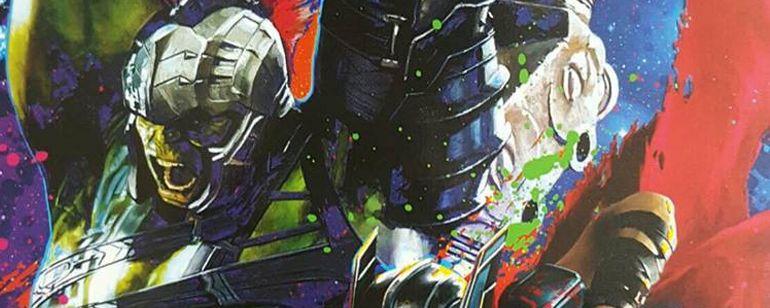 'Thor 3: Ragnarok': Filtrado un promo-art de la película protagonizado por Thor y Hulk  Noticias de interés sobre cine y series. Noticias estrenos adelantos de peliculas y series