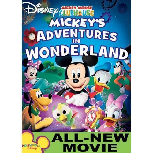Disney Mickey Mouse Clubhouse: Mickey's Adventures In Wonderland #MickeyMouseClubhouse