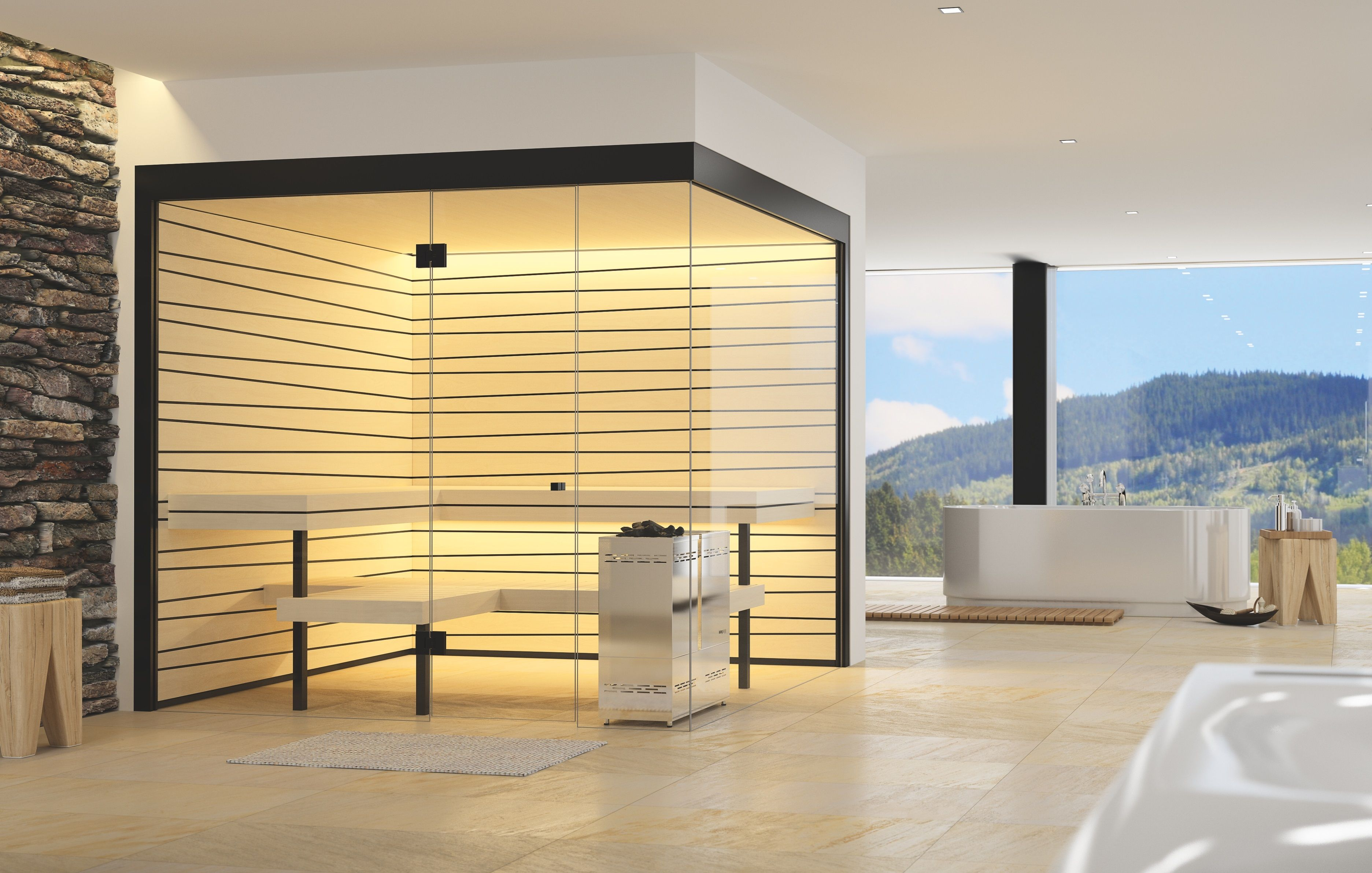 Vista, individuelle Bio-Sauna für Zuhause | SAUNA | Design ...