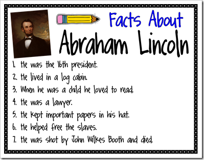 Image result for abraham lincoln facts